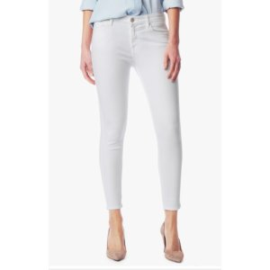 CROPPED SKINNY IN CLEAN WHITE