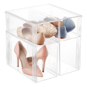 Premium Stacking Shoe Bin | The Container Store