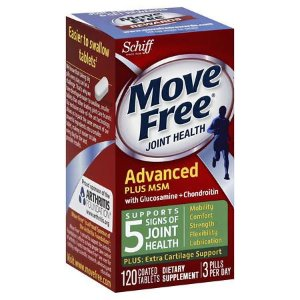 Schiff Move Free Bone & Joint Supplement, Glucosamine Chondroitin + MSM, Tablets | Walgreens