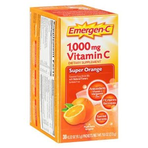 Emergen-C 1000 mg Vitamin C Dietary Supplement Fizzy Drink Mix Orange | Walgreens