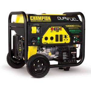 Price Mistake! Champion Power Equipment 100297 8000 Watt Dual Fuel Portable Generator