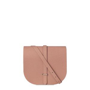 Terracotta Grain Large Saddle Bag | The Cambridge Satchel Company