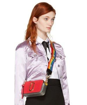 $295Marc Jacobs Small Snapshot Bag