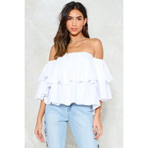 Go Above Off-the-Shoulder Top | Shop Clothes at Nasty Gal!