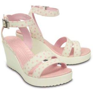 Crocs 女士高坡跟凉鞋