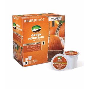 Keurig Green Mountain Coffee® Pumpkin Spice Limited Edition 18-pk. K-Cup® Portion Pack | Bon-Ton