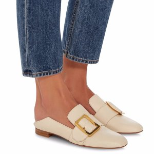 M'O Exclusive: Janelle Leather Slipper by Bally
