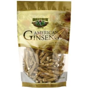 Half Short American Ginseng Small #1 8oz bag