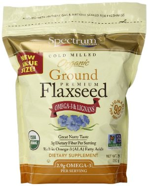 $4.72 With S&S SaveSpectrum Ground Flaxseed, 24 Ounce