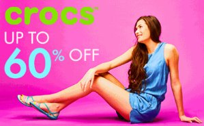 Up to 60% OffCrocs @ Zulily