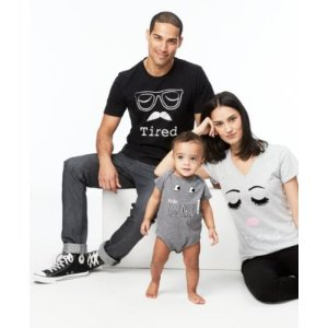 First Impressions Parent & Baby Mini-Me Tops, Created for Macy's