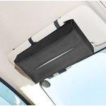 Lideemo Car Visor Tissue Holder,Automotive Armrest,Seat Back Napkin Box, Paper Case Tissue Refill for Vehicle/Home/Office