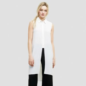 Button Front Tunic | Kenneth Cole