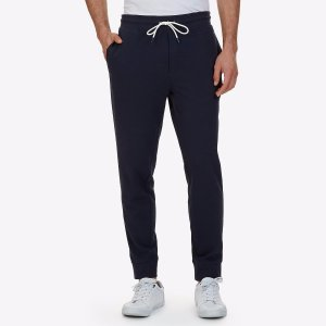 Slim Fit French Terry Jogger Pant - True Navy