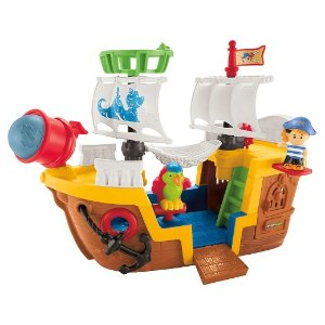 Fisher-Price Little People Pirate Ship : Target