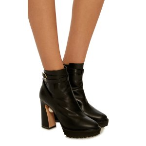 Annabel Pearl Biker boots