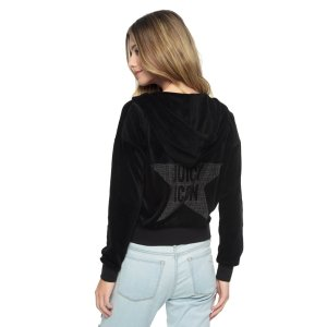 VELOUR JUICY ICON SUNSET JACKET - Juicy Couture