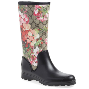 Gucci 'Prato - GG Blooms' Rain Boot (Women)