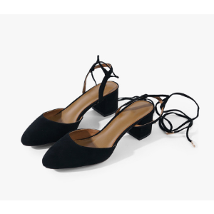 Suede Laced Sandals – Genuine People