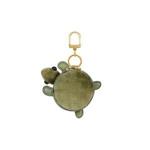 Tory Burch Turtle Burch Coin Pouch Key Fob