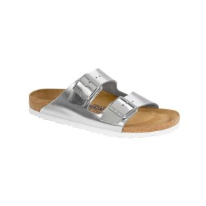 Birkenstock — Arizona Soft Footbed Leather Sandal | Kirna Zabête