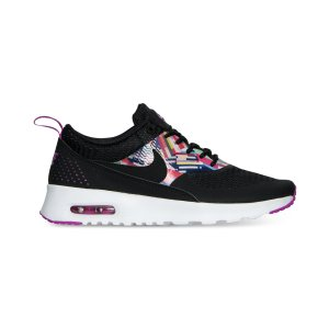 Nike Girls' Air Max Thea Print Running Sneakers from Finish Line - Finish Line Athletic Shoes - Kids & Baby - Macy's