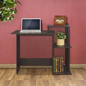 $19.42销量第一 Furinno 简约实用电脑桌 黑咖啡色