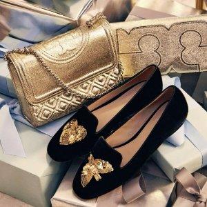 低至4折 Gigi 也参加Tory Burch官网精选美鞋热卖