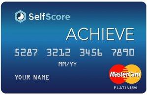 New Cash Back Credit CardThe SelfScore Achieve MasterCard