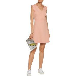 Rozo cutout crepe mini dress | Sandro | US | THE OUTNET