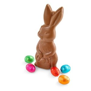 Shop Our Solid Milk Chocolate Easter Bunny with Foil Eggs at Godiva
