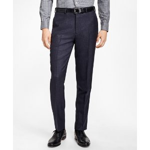 Regent Fit Check Trousers - Brooks Brothers