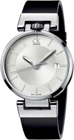 $69.99 二折好价!Calvin Klein Wordly 男士时装腕表