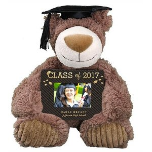Graduation Bear and Personalized Frame Set | 800Bear.com