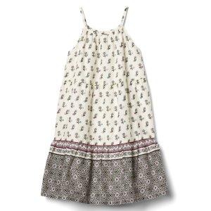 Floral tiered spaghetti dress | Gap