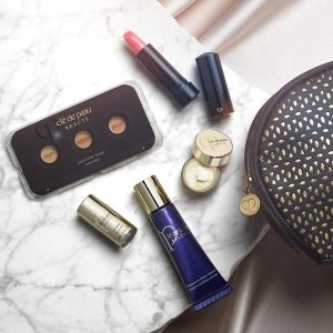 Don't miss out on your 6-piece Beauty BonusWith any purchase over $350 @ Cle De Peau Beaute