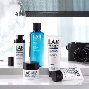 Free Full Size Multi-Action Face WashWith any $65 Orders @ Lab Series For Men
