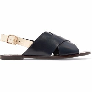 Bleecker leather slingback sandals | Tory Burch | US | THE OUTNET