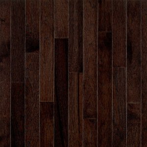 Bruce Frontier Shadow Hickory 3/4 in. Thick x 2-1/4 in. Wide x Random Length Solid Hardwood Flooring (20 sq. ft. / case)-C0689 - The Home Depot