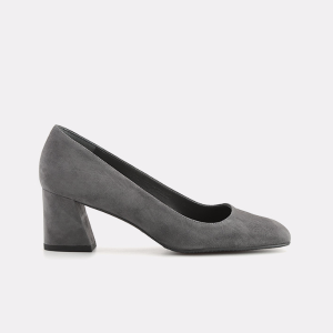 Marymid Suede Pump Block Heels