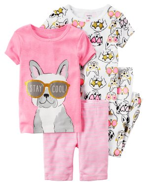 60% Off + Extra 25% Off $40 + Free ShippingFlash Sale 3 Or 4 Piece Pajamas @ Carter's