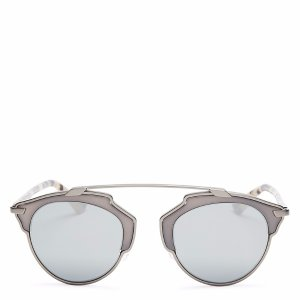 Dior So Real Mirrored Sunglasses, 48mm | Bloomingdale's