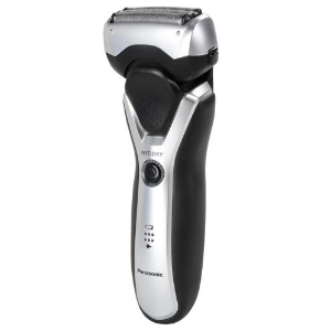 Panasonic - Arc 3 3-Blade Electric Shaver - Black/Silver