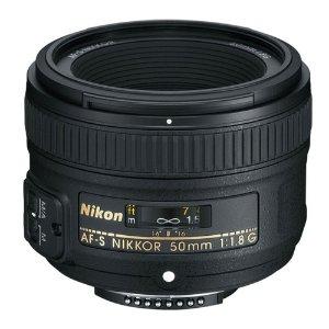 $183Nikon AF-S NIKKOR 50mm f/1.8G Lens for SLR Digital Camera