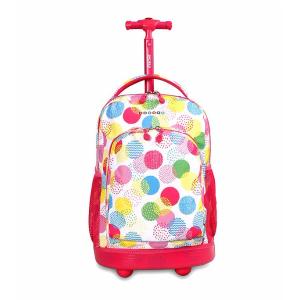 J World® Sunny Speckle Rolling Backpack | Bon-Ton