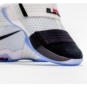Nike LeBron Soldier 10 - Men's - Basketball - Shoes - James, Lebron - White/Black/Black