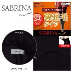 $6.55GUNZE SABRINA Extra Warm Stocking 240D