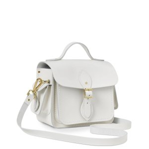 Clay Small Traveller Bag With Side Pockets | Cambridge Satchel
