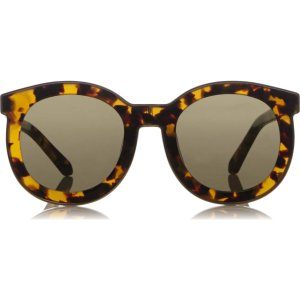 Karen Walker Super Spaceship Round Sunglasses