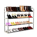 24 Pairs Shoe Rack Organizer Storage Bench